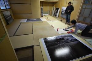 写真展「村の記憶」は、3月18日~22日開催