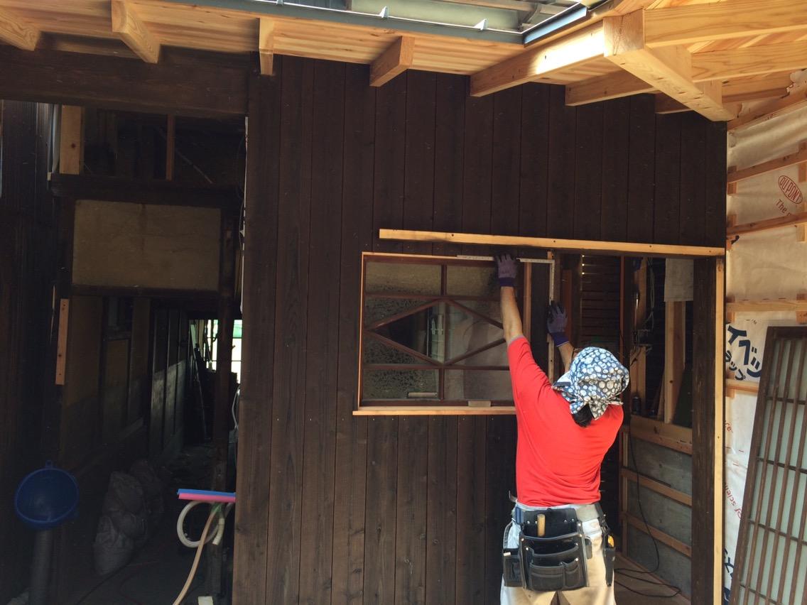 四日市の町家再生⑦左官工事始まる