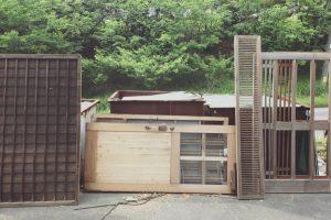 小さく住む家⑦ 古建具を使う