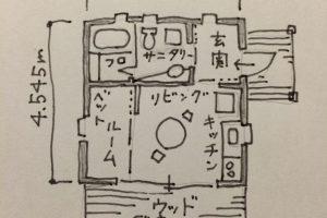 小さく住む家① 小さな家作りが始まる