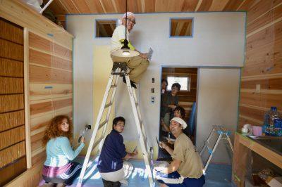 小さく住む家⑰漆喰を塗るぞ 下塗り編