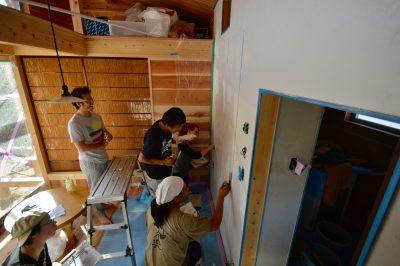 小さく住む家⑱漆喰を塗るぞ 上塗り編