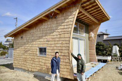 小さく住む家⑲ついに出来たシダーシェイク!