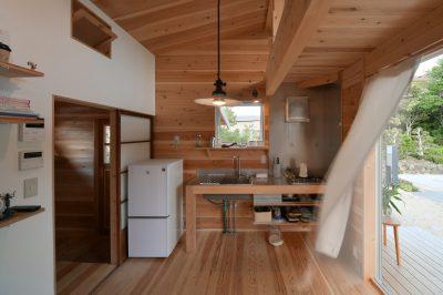 小さく住む家Web内覧会(3)リビングと就寝スペース