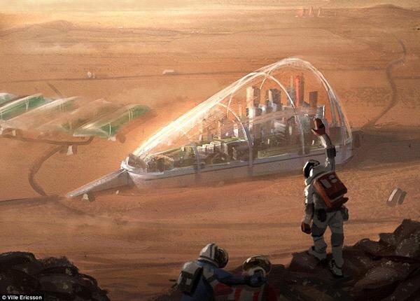 火星に土壁の家を建てる