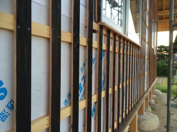 松阪の土壁の家⑧ 外壁編