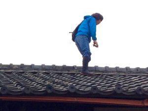 古民家を修理せよ④ 雨漏りには早めの対策を。