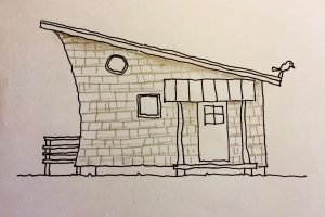小さく住む家⑤ 杉で仕上げる家