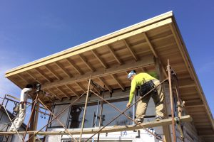 小さく住む家⑯カーブした外壁を作る