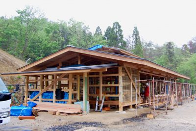 伊賀の石場建ての家(1)自然との共生を意識して