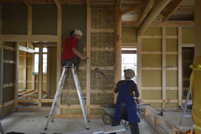 土壁を丈夫に作る方法〜木と土の家