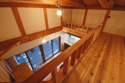 ワクワクする非日常空間、ロフトを作ろう〜木と漆喰で仕上げるリフォーム