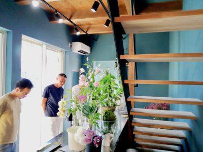 狭小地での店舗建築〜花とガーデンエクステリアの店T.space竣工